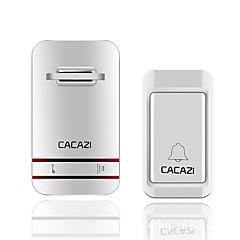 abordables Sistemas de Control de Acceso-V027G-1 Sin Cable Timbre de uno a uno Ding Dong Música Sonido ajustable Montado en la Superficie Timbre de la puerta