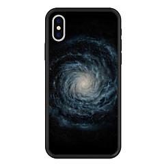 Недорогие Кейсы для iPhone 5-Кейс для Назначение Apple iPhone X / iPhone 8 Plus С узором Кейс на заднюю панель Пейзаж / Мультипликация Твердый Акрил для iPhone X / iPhone 8 Pluss / iPhone 8