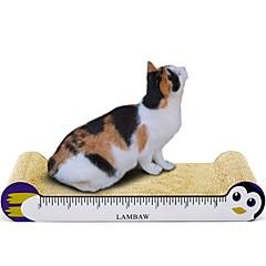 abordables Juguetes para Gatos-Almohadilla para Arañar Multicolor Almohadilla para Arañar Ayuda a perder peso Nébeda Cartón de papel Para Gatos
