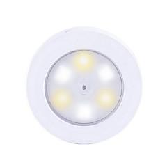 お買い得  LED アイデアライト-BRELONG® 1個 LEDナイトライト 暖かい白+白 AAAバッテリ駆動 3モード タッチセンサ 車に最適 <5V