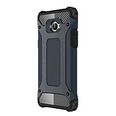 Недорогие Чехлы и кейсы для LG-Кейс для Назначение LG K5 Защита от удара Кейс на заднюю панель броня Твердый ПК для LG K10 / LG K8 / LG K7
