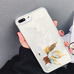 Недорогие Кейсы для iPhone 7 Plus-Кейс для Назначение Apple iPhone X iPhone 7 Plus Движущаяся жидкость С узором Кейс на заднюю панель Мультипликация Мягкий ТПУ для iPhone