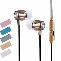 お買い得  ヘッドセット、ヘッドホン-SL63A 耳の中 ワイヤー ヘッドホン 動的 PVC(ポリ塩化ビニル) スポーツ&フィットネス イヤホン ヘッドセット