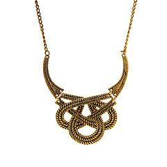 abordables Collares-Mujer Forma Geométrica Vintage Europeo Collares con colgantes Legierung Collares con colgantes Bar Calle Joyería de disfraz
