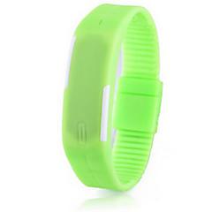 preiswerte Armbanduhren für Paare-Paar Armband-Uhr Caucho Band Modisch / Elegant Schwarz / Weiß / Blau