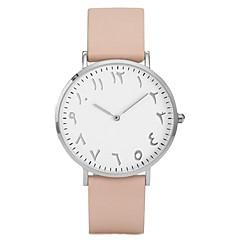 preiswerte Damenuhren-Damen Quartz Kleideruhr Modeuhr Chinesisch Chronograph PU Band Freizeit Schwarz Braun Rosa