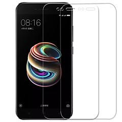 Недорогие Защитные плёнки для экранов Xiaomi-Защитная плёнка для экрана XIAOMI для Xiaomi A1 Закаленное стекло 2 штs Защитная пленка для экрана Защита от царапин Взрывозащищенный