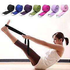 abordables Accesorios para Fitness-Correa de yoga Con Textil Elástico, Duradero, Cinto D-Ring ajustable Terapia física, Extensión, Mejore la flexibilidad por Unisex Yoga / Pilates / Ejercicio y Fitness
