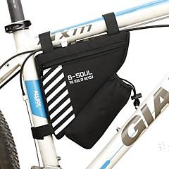 Χαμηλού Κόστους Τσάντες Ποδηλάτου-1.8 L Τσάντα για σκελετό ποδηλάτου Ενσωματωμένη σακούλα Βραστήρα, Φοριέται, Ανθεκτικό Τσάντα ποδηλάτου Τερυλίνη Τσάντα ποδηλάτου Τσάντα ποδηλασίας Ποδηλασία / Ποδήλατο