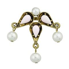 お買い得  指輪-ステートメントリング  -  人造真珠, 合金 ドロップ ベーシック, ファッション 7 グリーン / ピンク 用途 日常 / デート