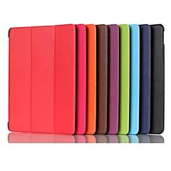 お買い得  タブレット用ケース-ケース 用途 Huawei MediaPad MediaPad M5 8 折りたたみ式 / 磁石バックル フルボディーケース ソリッド ハード PUレザー のために MediaPad M5 8