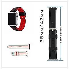 Χαμηλού Κόστους Μπρασελέ για ρολόγια Apple-Παρακολουθήστε Band για Apple Watch Series 3 / 2 / 1 Apple Κλασικό Κούμπωμα σιλικόνη Λουράκι Καρπού