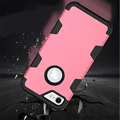 Недорогие Кейсы для iPhone 6 Plus-Кейс для Назначение Apple iPhone X iPhone 8 Защита от удара Кейс на заднюю панель Однотонный Мягкий Силикон для iPhone X iPhone 8 Pluss