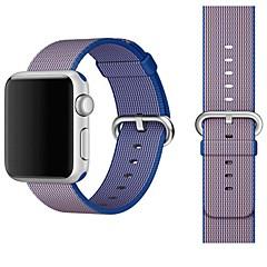 Χαμηλού Κόστους Μπρασελέ για ρολόγια Apple-Παρακολουθήστε Band για Apple Watch Series 3 / 2 / 1 Apple Κλασικό Κούμπωμα Νάιλον Λουράκι Καρπού