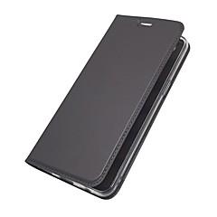 お買い得  その他のケース-ケース 用途 OnePlus OnePlus 5T 5 カードホルダー スタンド付き フリップ フルボディーケース ソリッド ハード PUレザー のために OnePlus 6 One Plus 5 OnePlus 5T