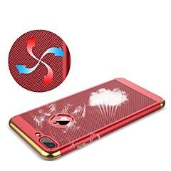 Недорогие Кейсы для iPhone 7-Кейс для Назначение Apple iPhone X iPhone 8 Plus Покрытие Кейс на заднюю панель Однотонный Твердый ПК для iPhone X iPhone 8 Pluss iPhone