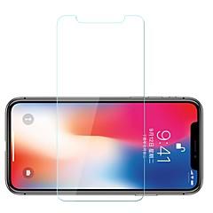 Недорогие Защитные пленки для iPhone X-Защитная плёнка для экрана для Apple iPhone X Закаленное стекло 1 ед. Защитная пленка для экрана Уровень защиты 9H / Взрывозащищенный