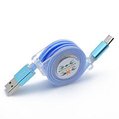 hesapli -Mikro USB Hızlı Ücret Kablo Samsung LG Nokia Lenovo Motorola HTC için 100cm TPE