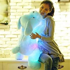abordables Juguetes de Peluche-Perros Animales de peluche y de felpa Encantador Confortable LED Unisex Chica Juguet Regalo 1 pcs