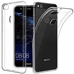 お買い得  Huawei Pシリーズケース/ カバー-ケース 用途 Huawei P10 P10 Plus 超薄型 透明体 バックカバー ソリッド ソフト TPU のために P10 Plus P10 Lite P10 Huawei P9 Plus Huawei P9 Lite Huawei P9 P8 Lite (2017)