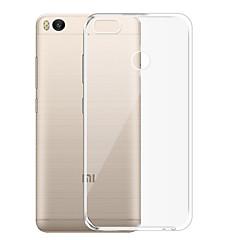 abordables Carcasas / Fundas para Xiaomi-Funda Para Xiaomi Mi 5X Transparente Funda Trasera Un Color Suave TPU para Xiaomi Mi 5X