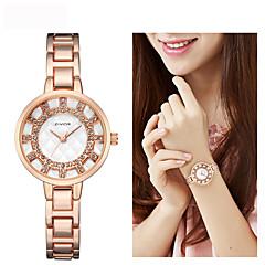 preiswerte Damenuhren-Damen Kleideruhr Armbanduhr Quartz Silber / Gold / Rotgold 30 m Neues Design Armbanduhren für den Alltag Imitation Diamant Analog damas Modisch Elegant - Gold Silber Rotgold Zwei jahr