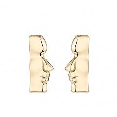 preiswerte Ohrringe-Damen Ohrstecker / Tropfen-Ohrringe - Gesicht Retro, Gothic, Modisch Golden Für Party / Karnival / Ausgehen