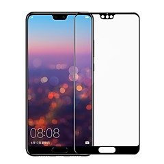 tanie Folie ochronne do Huawei-Screen Protector na Huawei Huawei P20 lite Szkło hartowane 1 szt. Folia ochronna ekranu 3D zaokrąglone rogi / Antyodciskowa / Odporne na