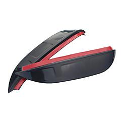 お買い得  カーデコレーション-2pcs 車 車の雨の眉 ビジネス ペーストタイプ のために バックミラー 用途 アウディ Q3 2012 / 2013 / 2014