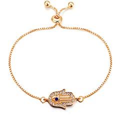 preiswerte Armbänder-Damen Ketten- & Glieder-Armbänder - Klassisch, Retro, Modisch Armbänder Gold Die Hand von Fatima Für Alltag Verabredung