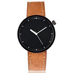 お買い得  メンズ腕時計-男性用 女性用 リストウォッチ クォーツ 大きめ文字盤 レザー バンド ハンズ バングル 多色 ブラック / 白 / レッド - Brown レッド グリーン 1年間 電池寿命 / SSUO LR626