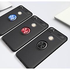 Недорогие Чехлы и кейсы для Xiaomi-Кейс для Назначение Xiaomi Redmi 5A / Redmi 4a Кольца-держатели Кейс на заднюю панель Однотонный Мягкий ТПУ для Redmi Note 5A / Xiaomi Redmi Note 4X / Xiaomi Redmi 4a