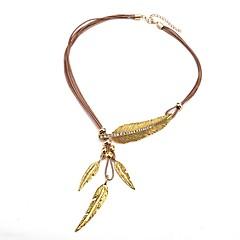 preiswerte Halsketten-Y Halskette  -  Retro, Europäisch Braun, Gold, Silber 54 cm Modische Halsketten Für Party, Nacht Besondere Anlässe