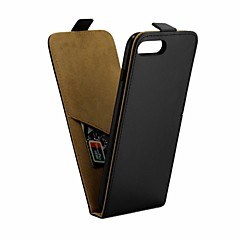 Недорогие Кейсы для iPhone 7 Plus-Кейс для Назначение Apple iPhone 8 Plus / iPhone 7 Plus IMD Чехол Однотонный Мягкий Кожа PU для iPhone 8 Pluss / iPhone 7 Plus