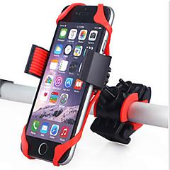 abordables Grips-Montura de Teléfono para Bicicleta Bicicleta de Montaña Gel de sílice Rojo - 1 pcs