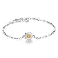 preiswerte Armbänder-Ketten- & Glieder-Armbänder - Blume Modisch Armbänder Gelb Für Alltag / Strasse