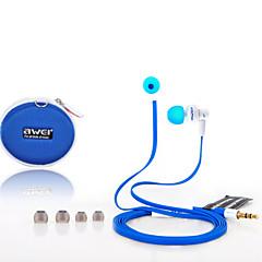 お買い得  ヘッドセット、ヘッドホン-ES700M 耳の中 ケーブル ヘッドホン 動的 銅 携帯電話 イヤホン ヘッドセット