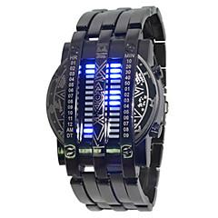 preiswerte Damenuhren-Damen Armbanduhr Chinesisch Chronograph / Kreativ / leuchtend Legierung Band Modisch Schwarz / SSUO LR626