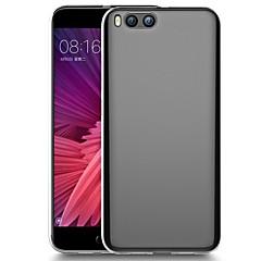 Недорогие Чехлы и кейсы для Xiaomi-Кейс для Назначение Xiaomi Mi 6 / Mi 6 Plus Прозрачный Кейс на заднюю панель Однотонный Мягкий ТПУ для Mi 6 Plus / Xiaomi Mi 6
