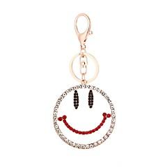 preiswerte Schlüsselanhänger-Lächelndes Gesicht Schlüsselanhänger Gold Aleación Europäisch, Modisch Für Geschenk / Alltag