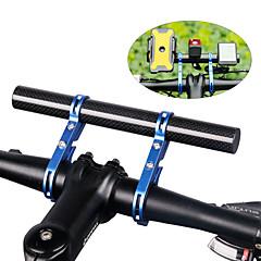 abordables Puños y Manguitos para Manillar-Extensión del elevador de manubrio para bicicleta Bicicleta de Montaña / Bicicleta de Pista Ligero Fibra de carbon Azul Piscina / Negro / Rojo