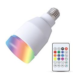 preiswerte LED-Birnen-YouOKLight 1pc 5W 600lm E26 / E27 Smart LED Glühlampen 27 LED-Perlen SMD Smart / Bluetooth / Audio Lautsprecher Weiß 110-130V / 220-240V