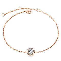 preiswerte Armbänder-Synthetischer Diamant Ketten- & Glieder-Armbänder - Roségold Koreanisch, Elegant Armbänder Silber / Rotgold Für Verabredung / Valentinstag