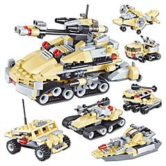 olcso -Építőkockák 348pcs Tank / Harcos Tank / Harcos Ajándék