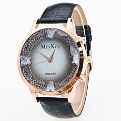 preiswerte Damenuhren-Damen Armbanduhr Chinesisch Niedlich / Armbanduhren für den Alltag Leder Band Schmetterling / Modisch Schwarz / Blau / Rot