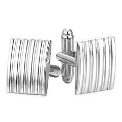 abordables Gemelos-Rectángulo Plata / Dorado Gemelos Cobre Simple / Moda Hombre Joyería de disfraz Para Diario