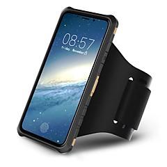 Недорогие Кейсы для iPhone 7 Plus-Кейс для Назначение Apple iPhone X / iPhone 8 Спортивныеповязки / Защита от удара / со стендом Кейс на заднюю панель броня Твердый ПК для