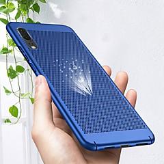 お買い得  Huawei Pシリーズケース/ カバー-ケース 用途 Huawei P20 lite / P20 Pro 超薄型 バックカバー ソリッド ハード PC のために Huawei P20 lite / Huawei P20 Pro / Huawei P20