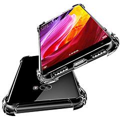 Недорогие Чехлы и кейсы для Xiaomi-Кейс для Назначение Xiaomi Xiaomi Mi Mix 2S / Mi 6X Защита от удара / Полупрозрачный Кейс на заднюю панель Однотонный Мягкий ТПУ для Xiaomi Mi Mix 2S / Xiaomi Mi 6X(Mi A2) / Xiaomi Mi 5X