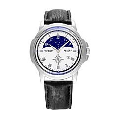 preiswerte Herrenuhren-YAZOLE Herrn Armbanduhr Armbanduhren für den Alltag / Cool PU Band Freizeit / Modisch Schwarz / Blau / Braun